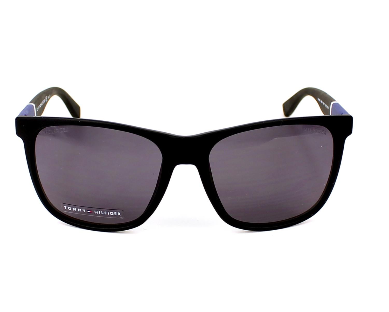 d8b10413325ad Sunglasses Tommy Hilfiger TH-1281-S FMA 3H 56-17 Black front