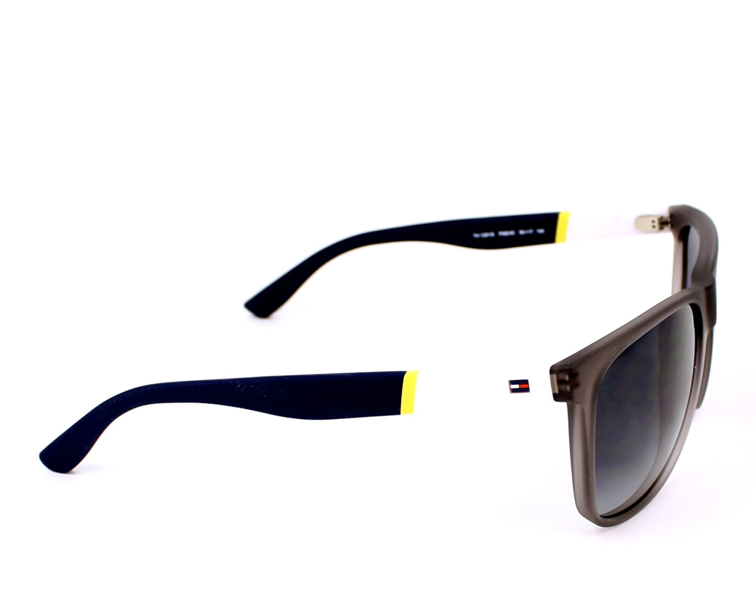 ade1fc6f5c63f Sunglasses Tommy Hilfiger TH-1281-S FME HD - Grey White side view