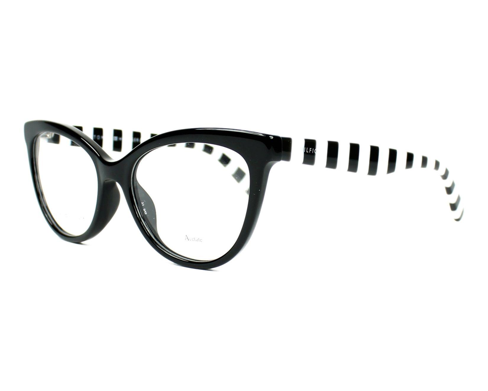 5c402e072eac eyeglasses Tommy Hilfiger TH-1481 807 - Black profile view