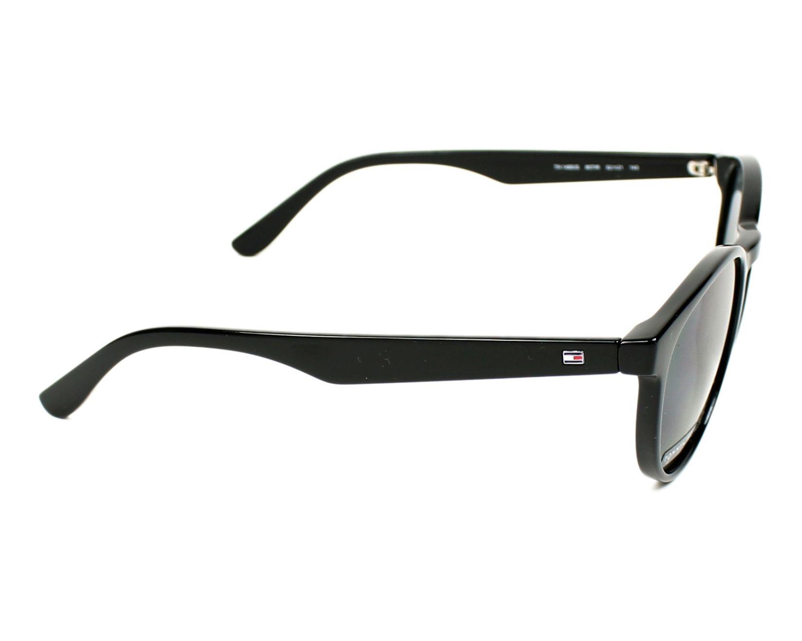 1091ba97be thumbnail Sunglasses Tommy Hilfiger TH-1485-S 807 IR - Black side view