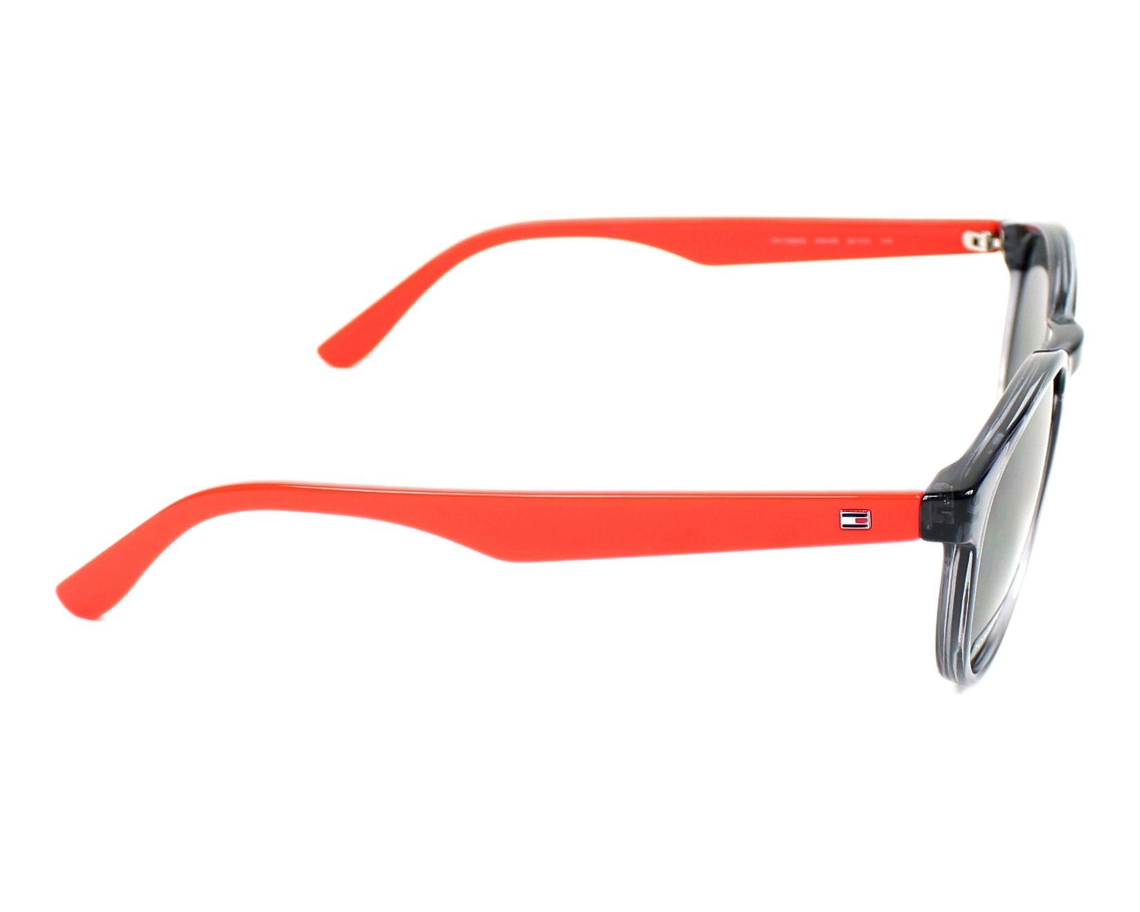 3f6b83a945 Sunglasses Tommy Hilfiger TH-1485-S HWJ IR - Grey Red side view