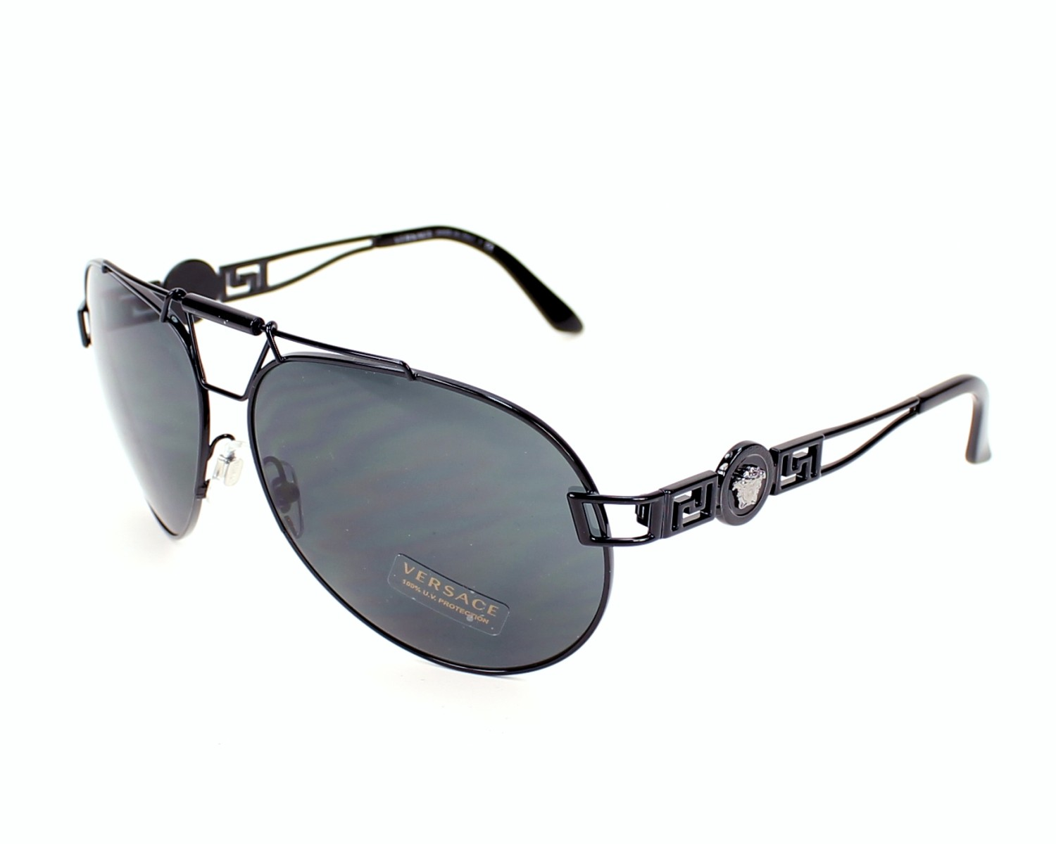 36beac1bc9 Sunglasses Versace VE-2160 1009 87 - Black profile view