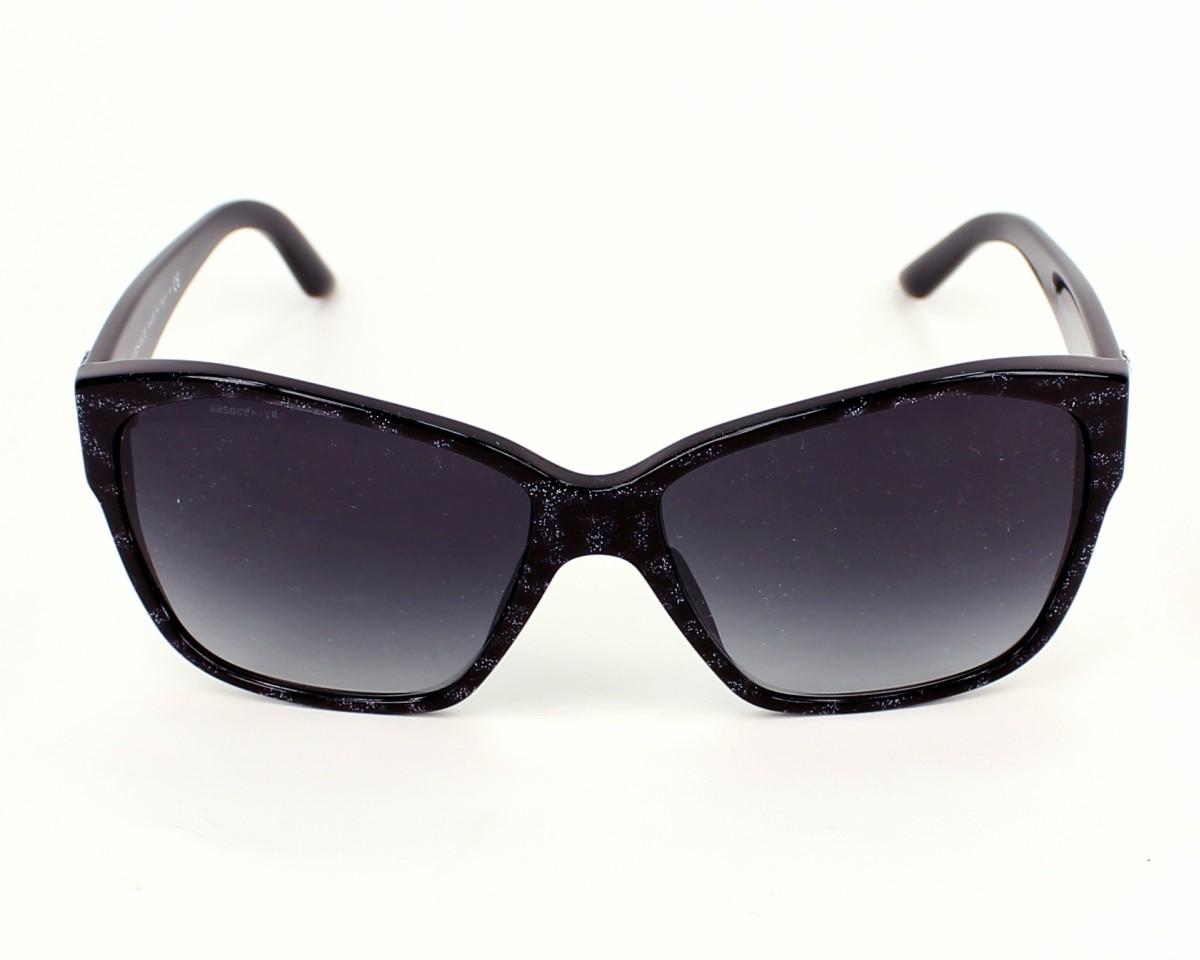 acda99689263 Sunglasses Versace VE-4277 5136/8G - Black Black front view