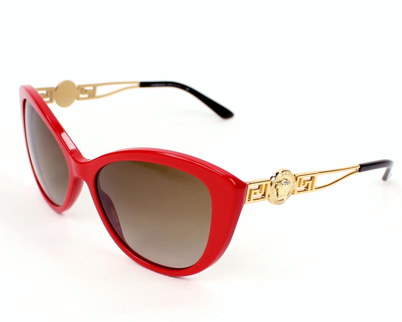 fd3c51b7d437b Sunglasses Versace VE-4295 256 13 - Red Gold profile view