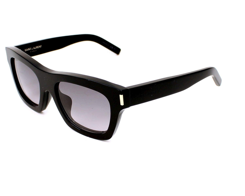 02af57a8b3b thumbnail Sunglasses Yves Saint Laurent BOLD-4-F 807EU - Black profile view