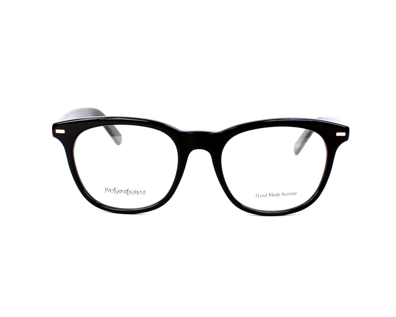 29e6be09ea1 eyeglasses Yves Saint Laurent YSL-2359 807 - Black front view