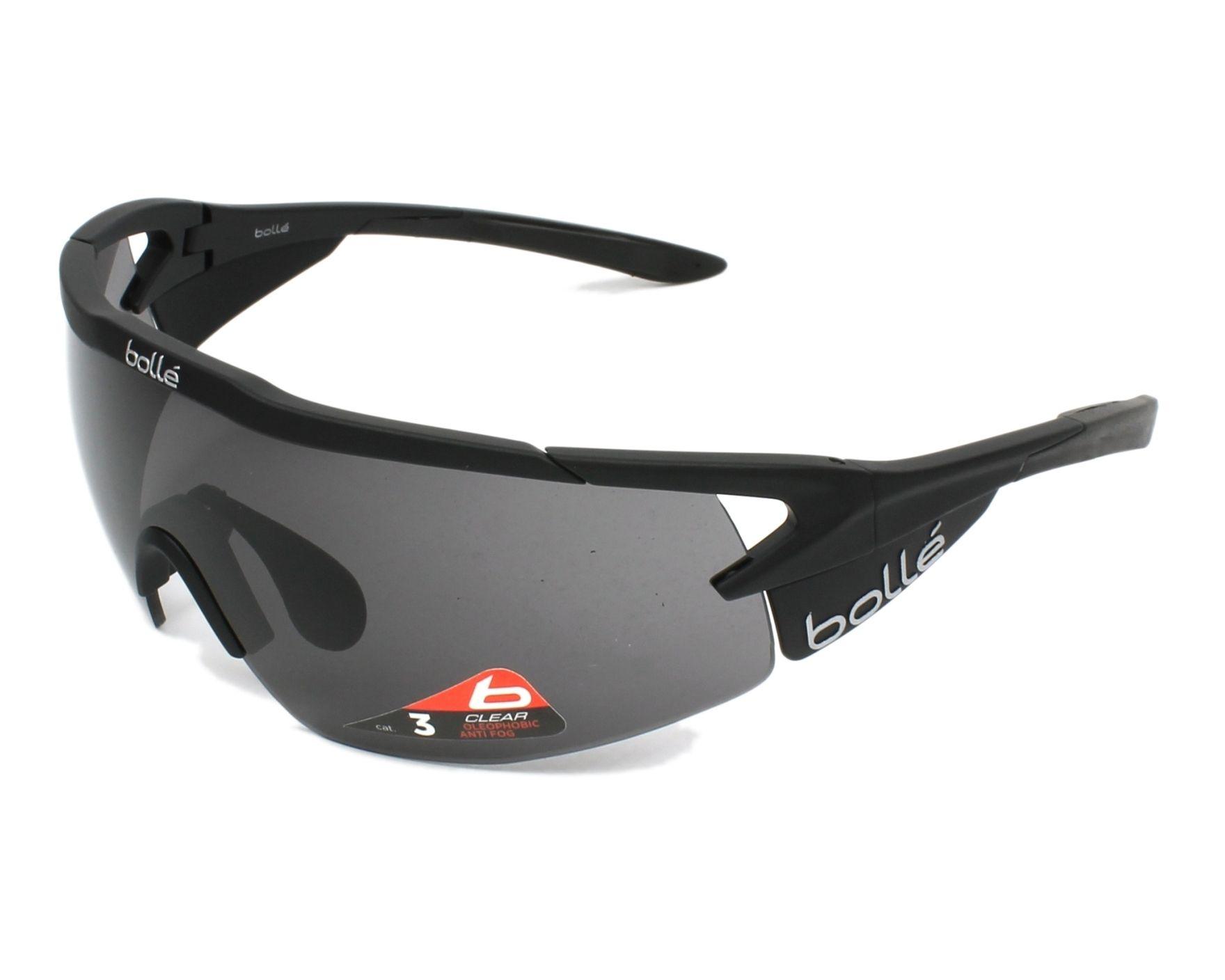 363dac086c Sunglasses Bollé AEROMAX 12266 - Black profile view