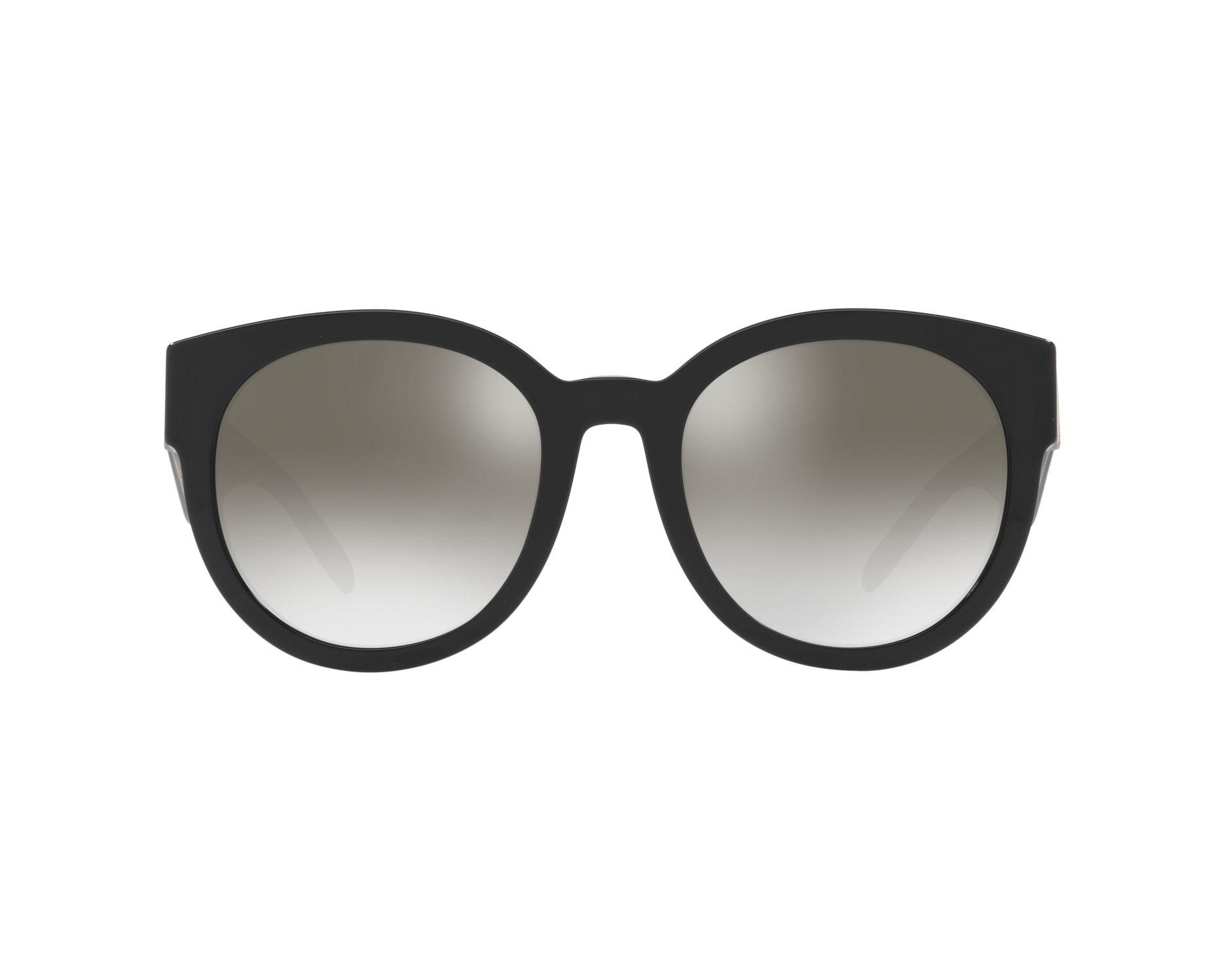 3b17c81c3f66 Sunglasses Burberry BE-4260 36836l 54-21 Black Brown 360 degree view 1