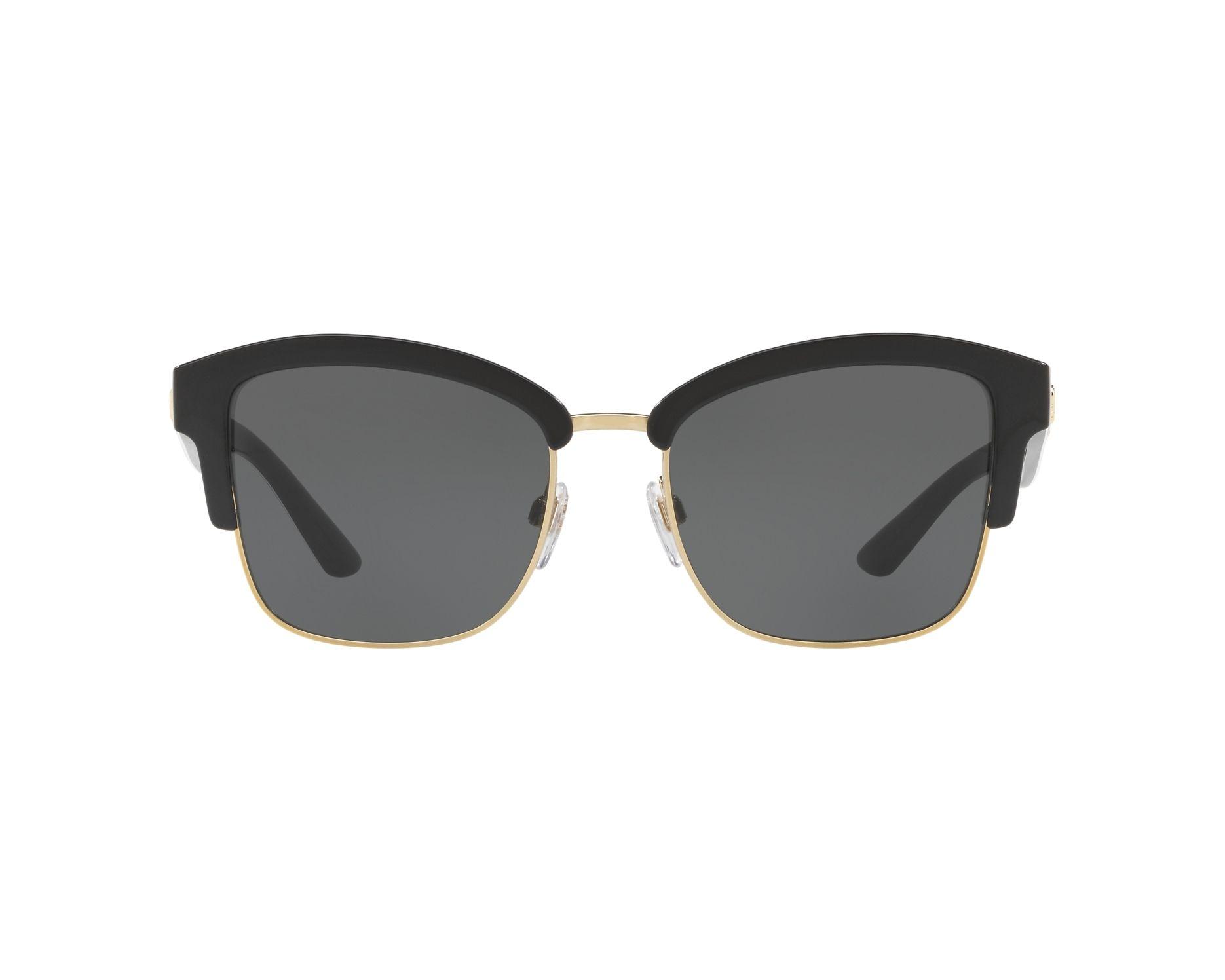 d796a10802bd Sunglasses Burberry BE-4265 372387 54-18 Black White 360 degree view 1