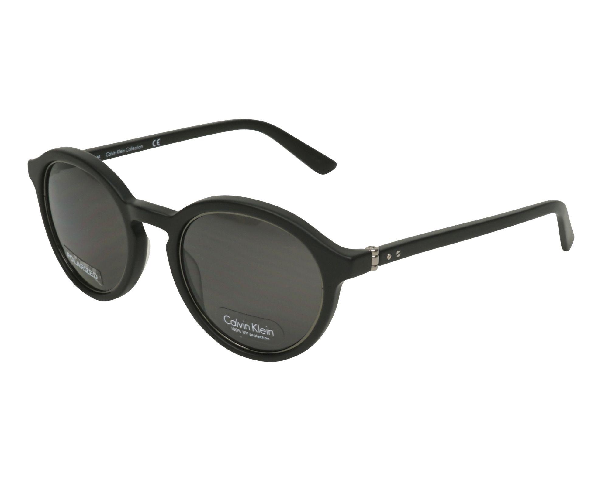 e18fbf7102 Polarized. Sunglasses Calvin Klein CK-8503-S-P 007 - Black Gun profile view