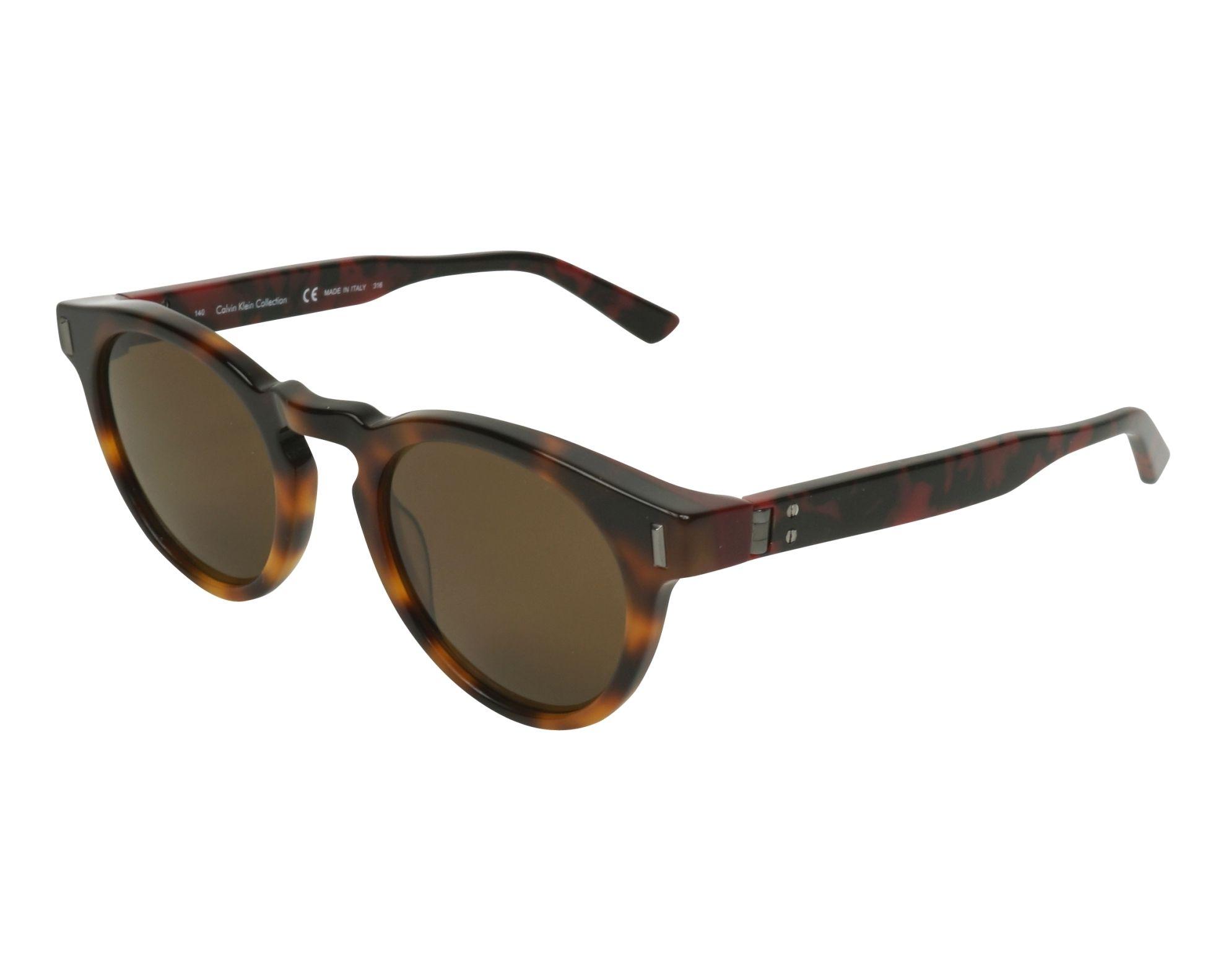 90f49961aa84 Sunglasses Calvin Klein CK-8547-S 218 49-22 Havana Red profile view