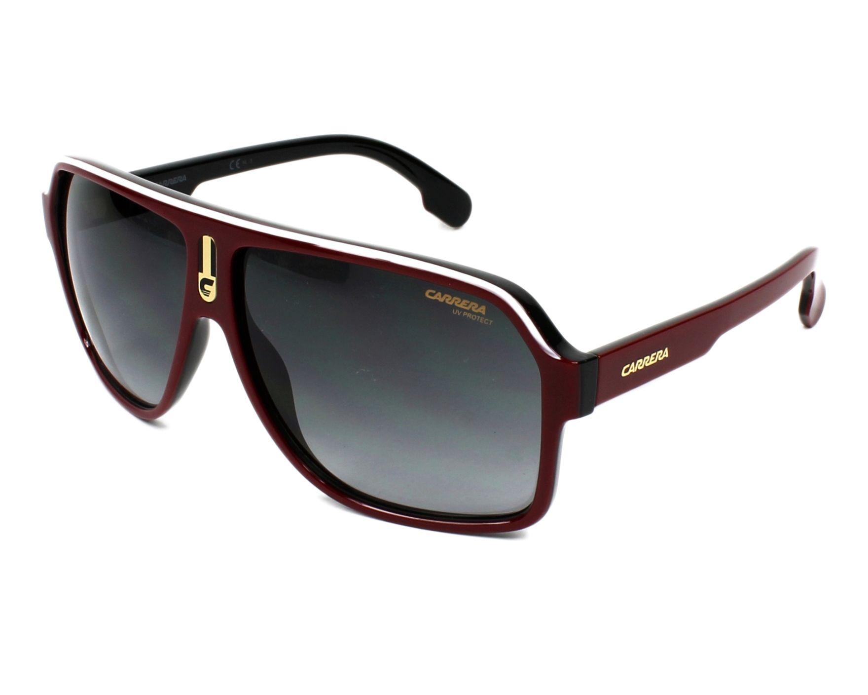 3e3a84020cc6 Sunglasses Carrera 1001-S 0A4/9O 62-11 Bordeaux profile view