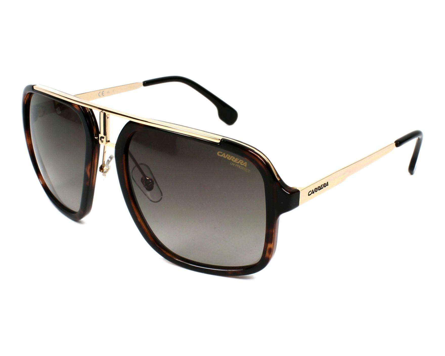 039452de93 Sunglasses Carrera 1004-S 2IK/HA 57-20 Havana Gold profile view