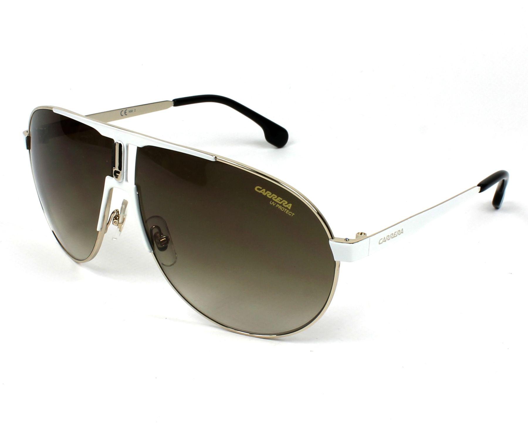 Sunglasses Carrera 1005-S B4E HA 66-9 White Gold profile view d8f536d424