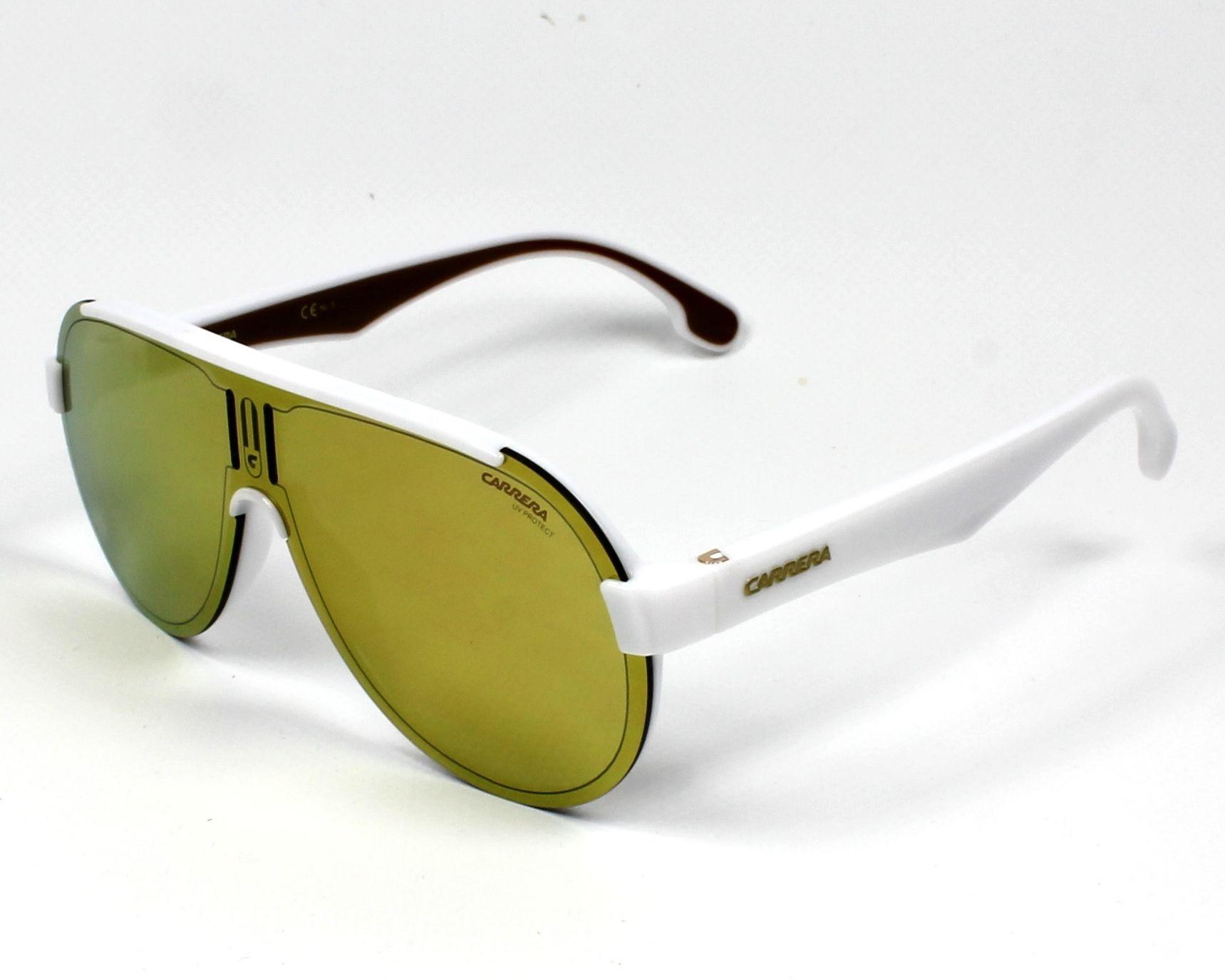 6517e5a06e1 Sunglasses Carrera 1008-S VK6/K1 - White Gold profile view