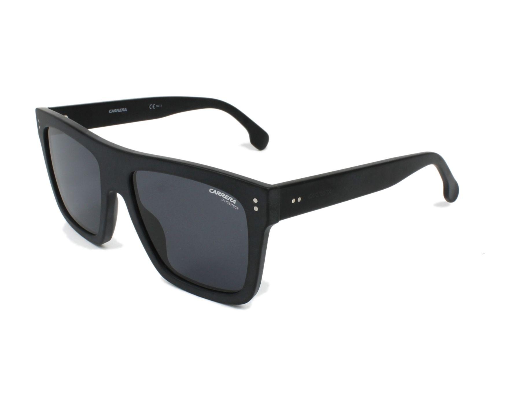 f47c867732c Sunglasses Carrera 1010-S 003 IR 55-18 Black profile view