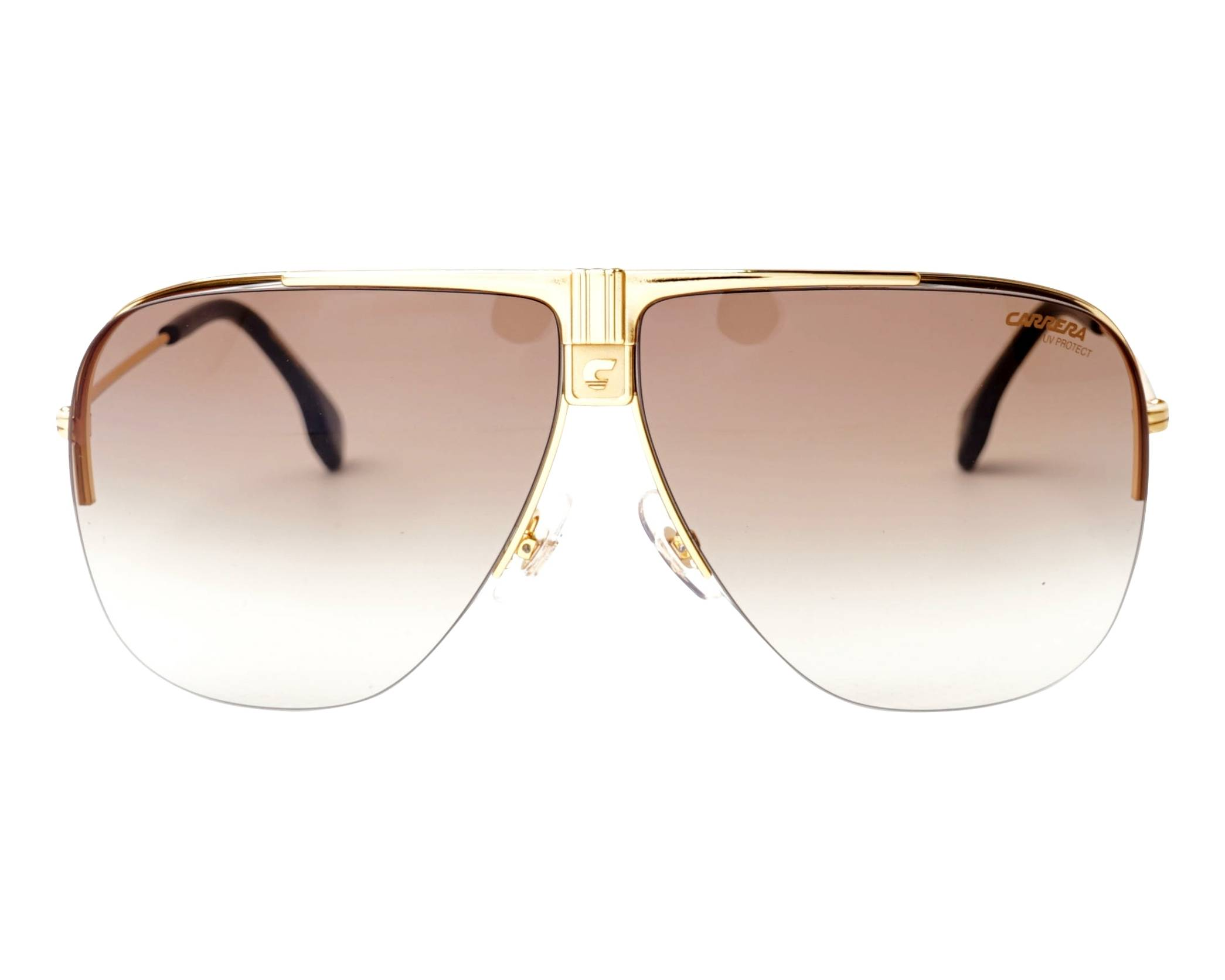 4be5ac3397 Sunglasses Carrera 1013-S 00186 64-9 Gold front view