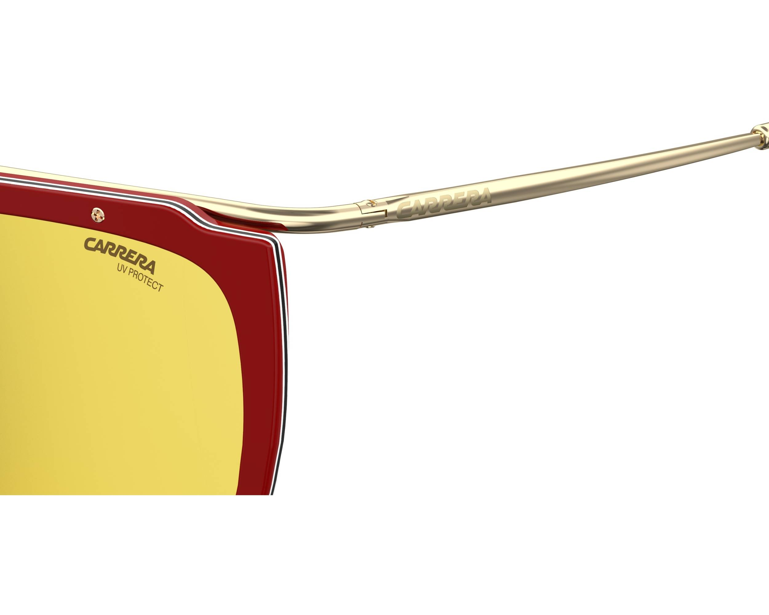 080caebd3524 Sunglasses Carrera 1023-S AU2HW 60-15 Red Gold side view