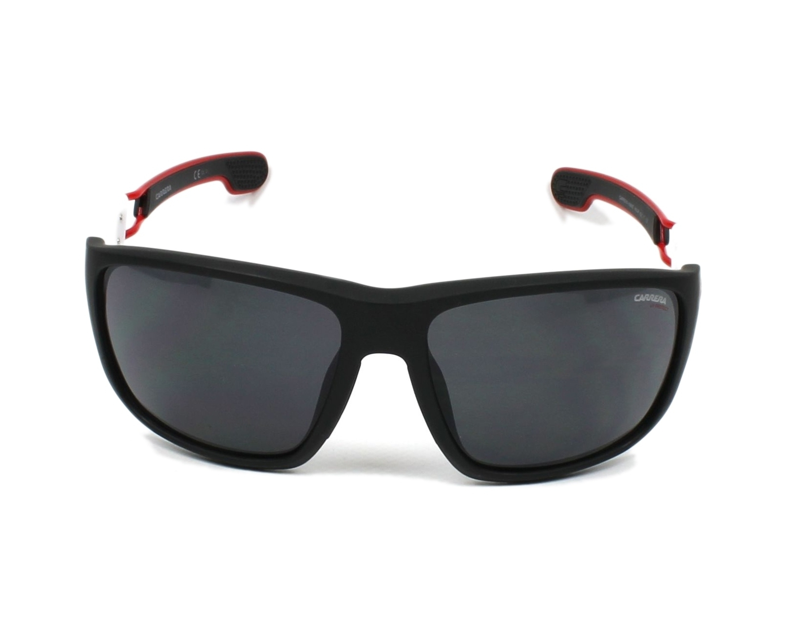 a16c88a8537 Sunglasses Carrera 4006-S 4NL IR 63-17 Black White front view
