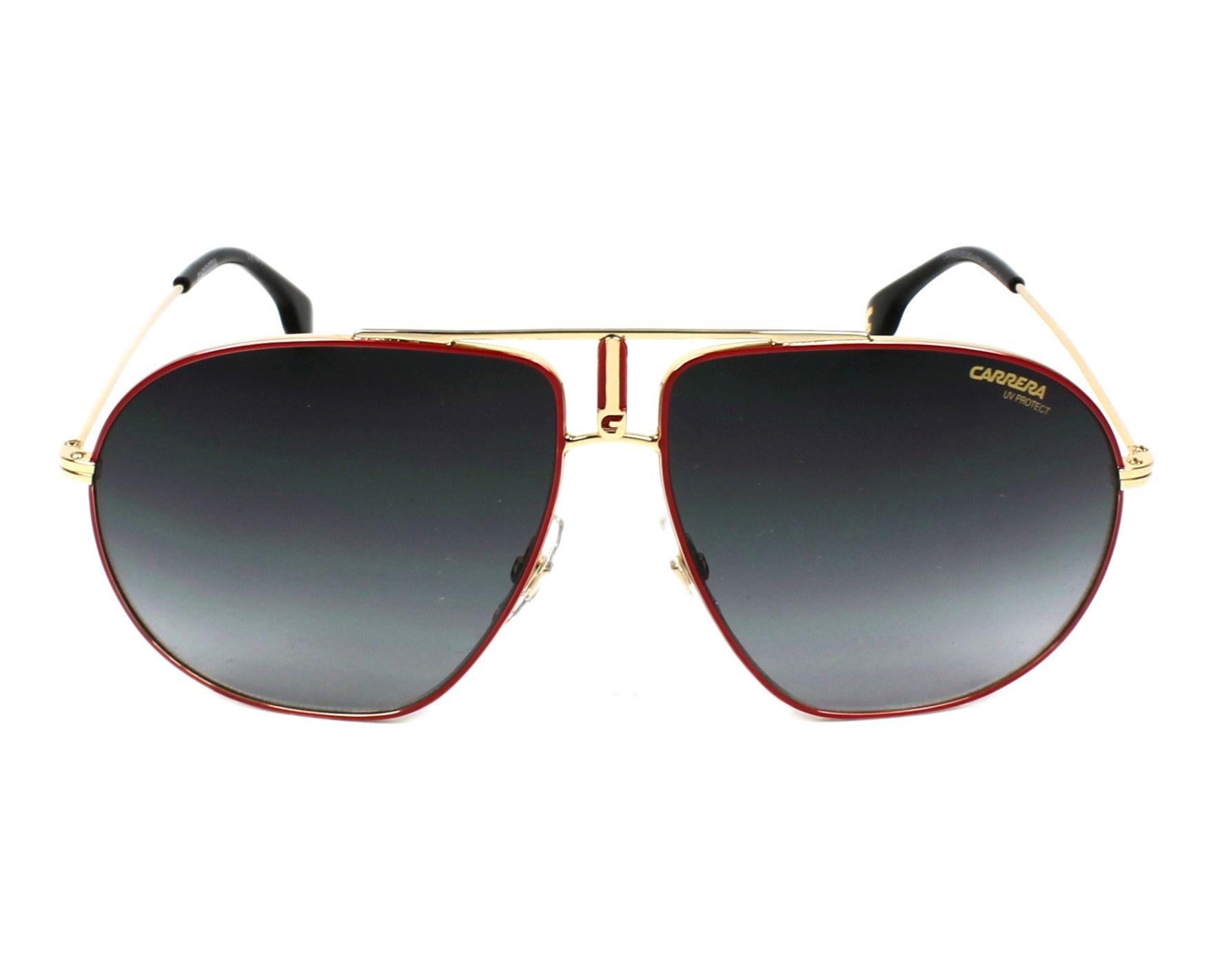 cc436fb86d Sunglasses Carrera BOUND AU2 9O 60-12 Red Gold front view