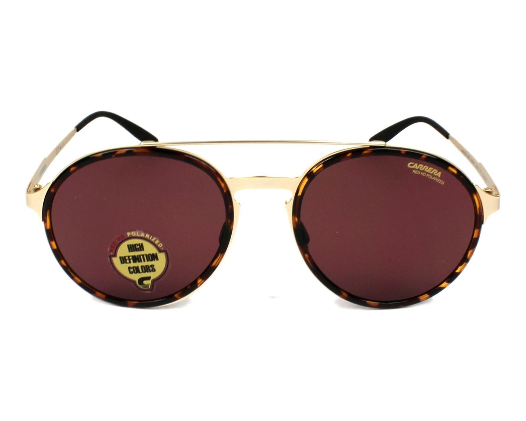 77f6e6153c2 Sunglasses Carrera CARRERA-140-S 8SO W6 53-20 Gold Havana front