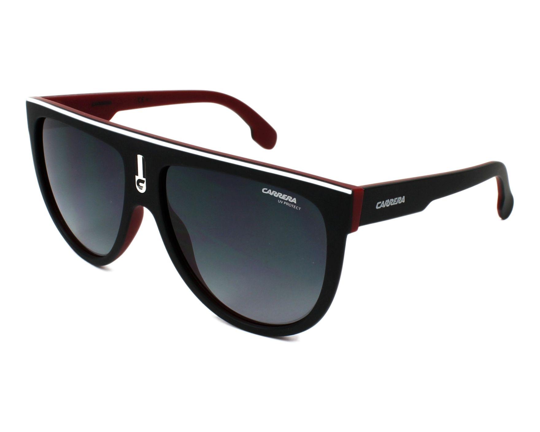 21bee87e1d Sunglasses Carrera FLAGTOP BLX 9O 60-15 Black Bordeaux profile view