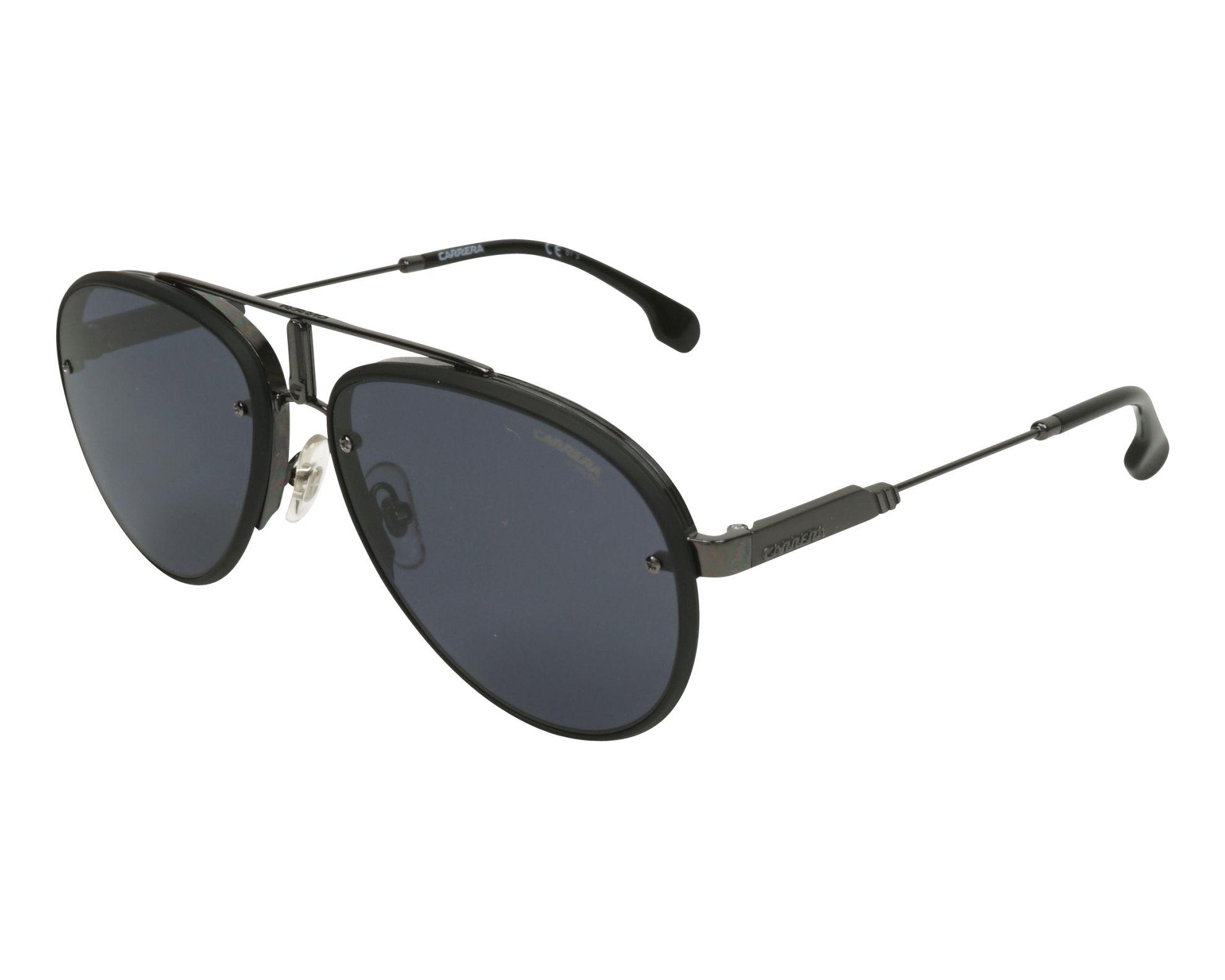 3af8ca9ada Sunglasses Carrera GLORY 003 2K 58-17 Black Gun profile view