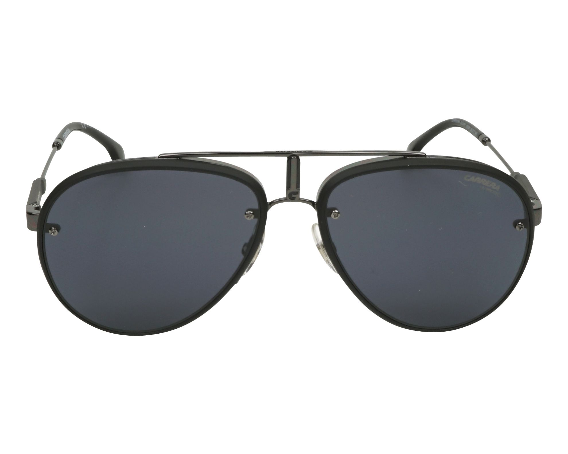 d0f4410e1a Sunglasses Carrera GLORY 003 2K 58-17 Black Gun front view