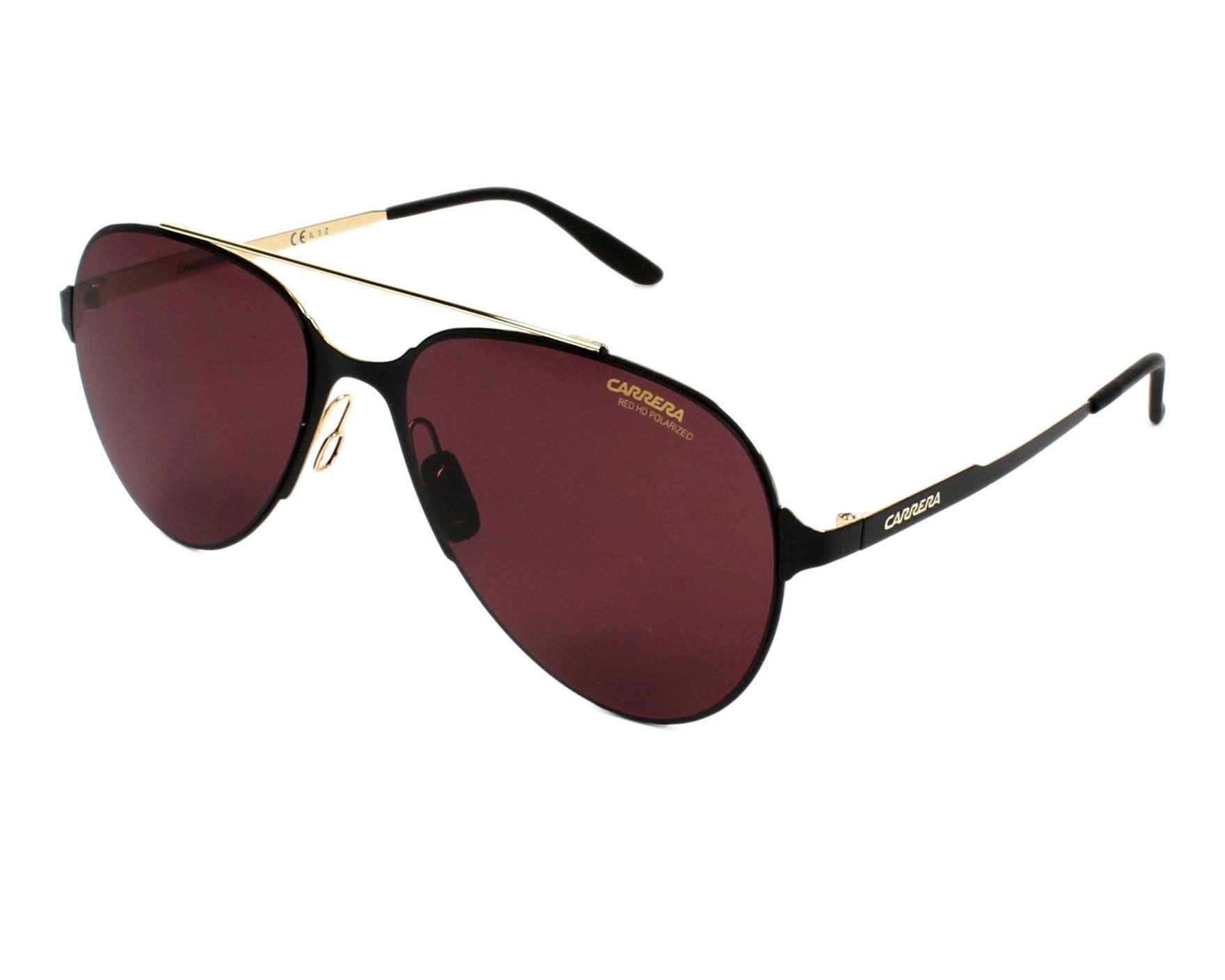 51dbb52af Polarized. Sunglasses Carrera CARRERA-113-S 1PW/W6 57-17 Black Gold profile