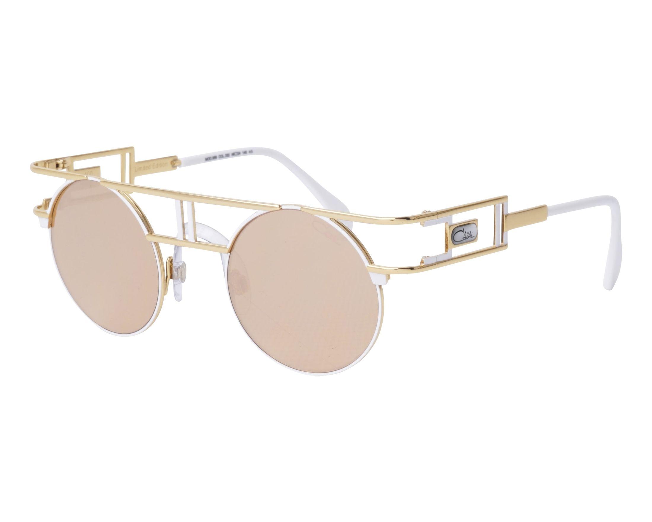 ccd538930fb Sunglasses Cazal 958 332 46-24 White Gold profile view