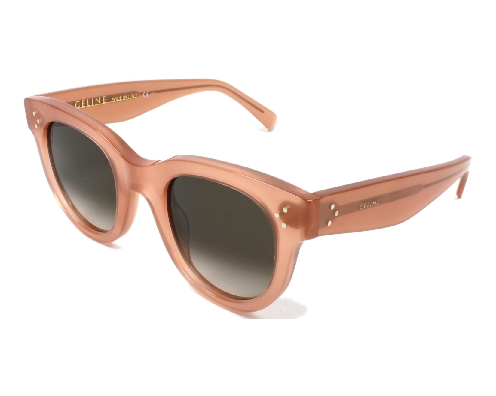ac27215e01 thumbnail Sunglasses Céline CL-41053 N80 Z3 - Rosa profile view