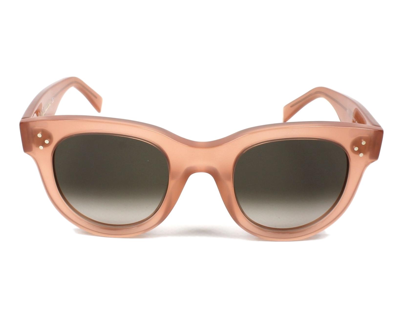 885017e961 thumbnail Sunglasses Céline CL-41053 N80 Z3 - Rosa front view
