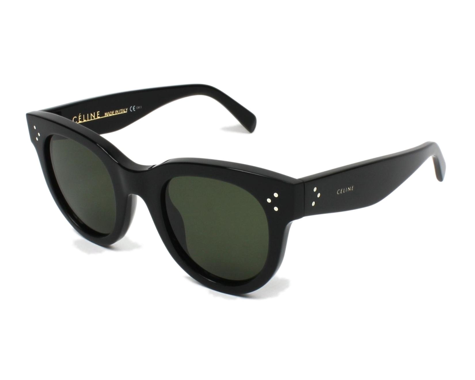 d68b681f04 thumbnail Sunglasses Céline CL-41053-S 807 1E - Black profile view