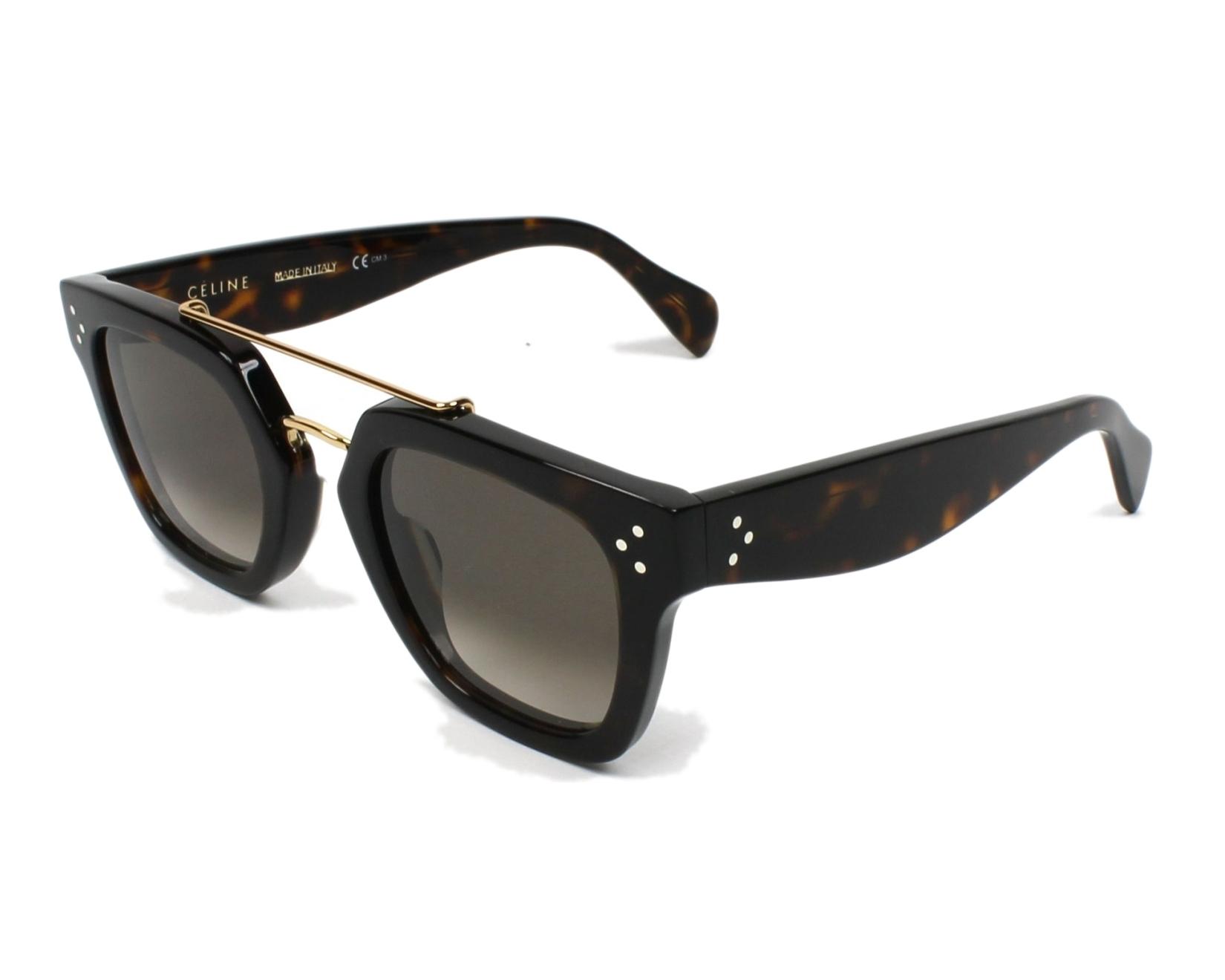 a61f5e005c7 Sunglasses Céline CL-41077 086 Z3 - Havana Gold profile view