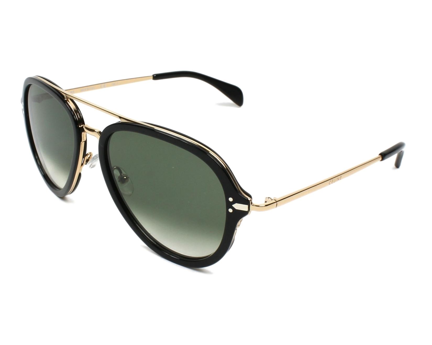 0932bf6229e4a Sunglasses Céline CL-41374 ANW XM - Black Gold profile view