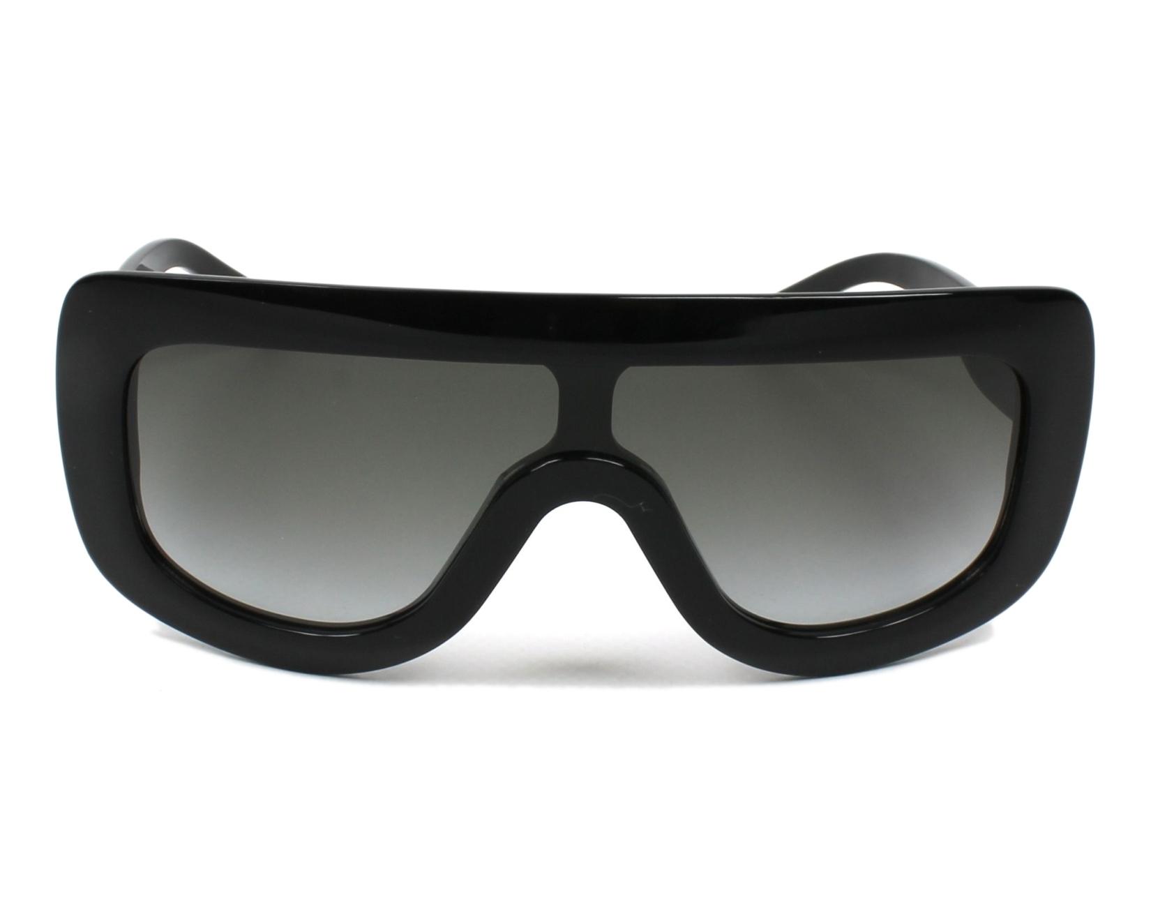 2276e6a35bd Sunglasses Céline CL-41377 807 N6 - Black front view