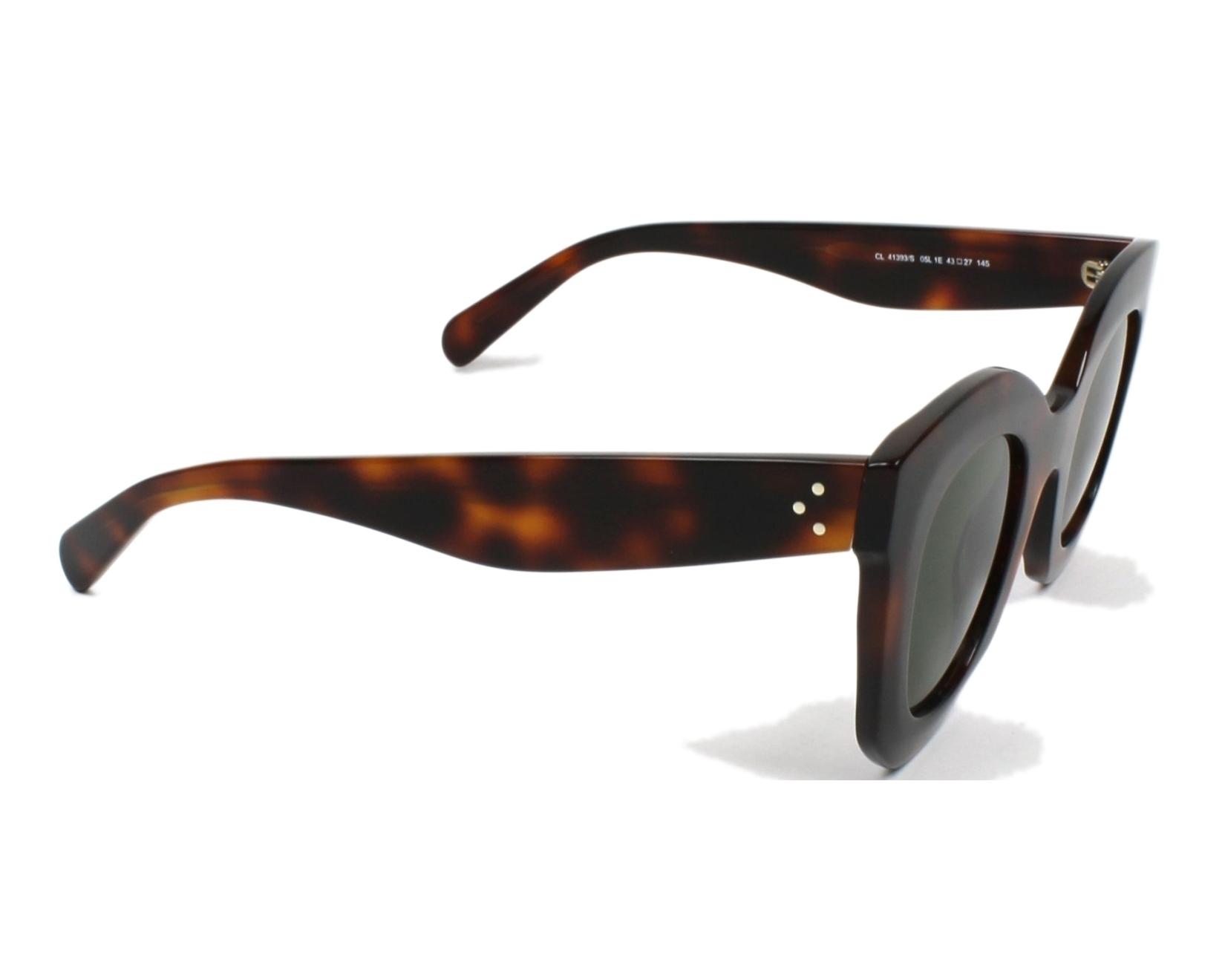 2d95a8eaf8 thumbnail Sunglasses Céline CL-41393-S 05L 1E - Havana side view