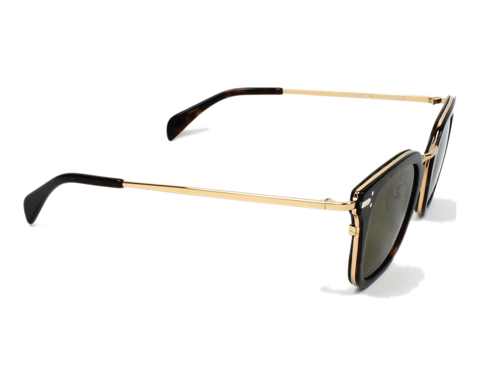 289d95f5516 Sunglasses Céline CL-41402 ANT X7 - Havana Gold side view