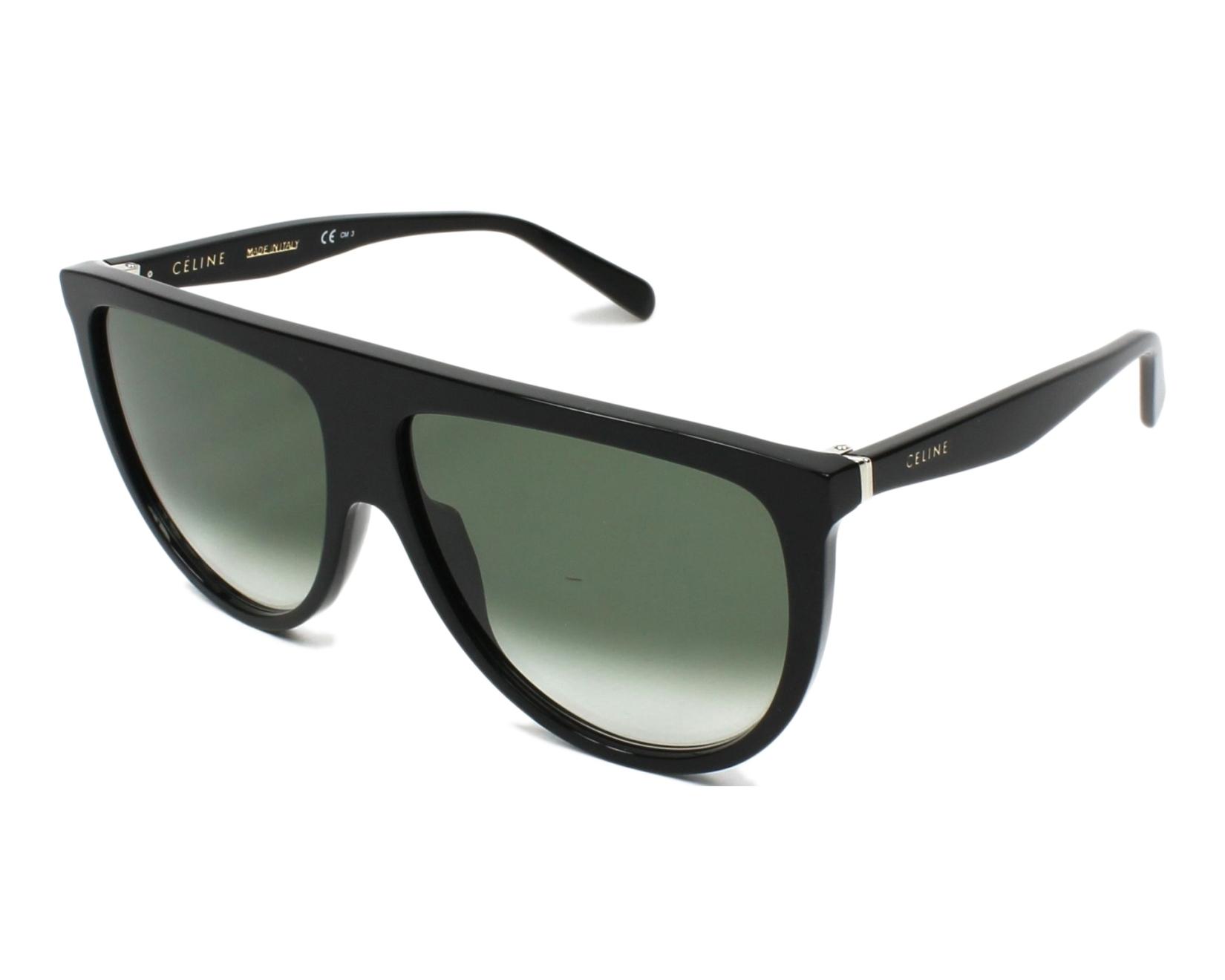 e75d4618b19 thumbnail Sunglasses Céline CL-41435-S 807 XM - Black profile view