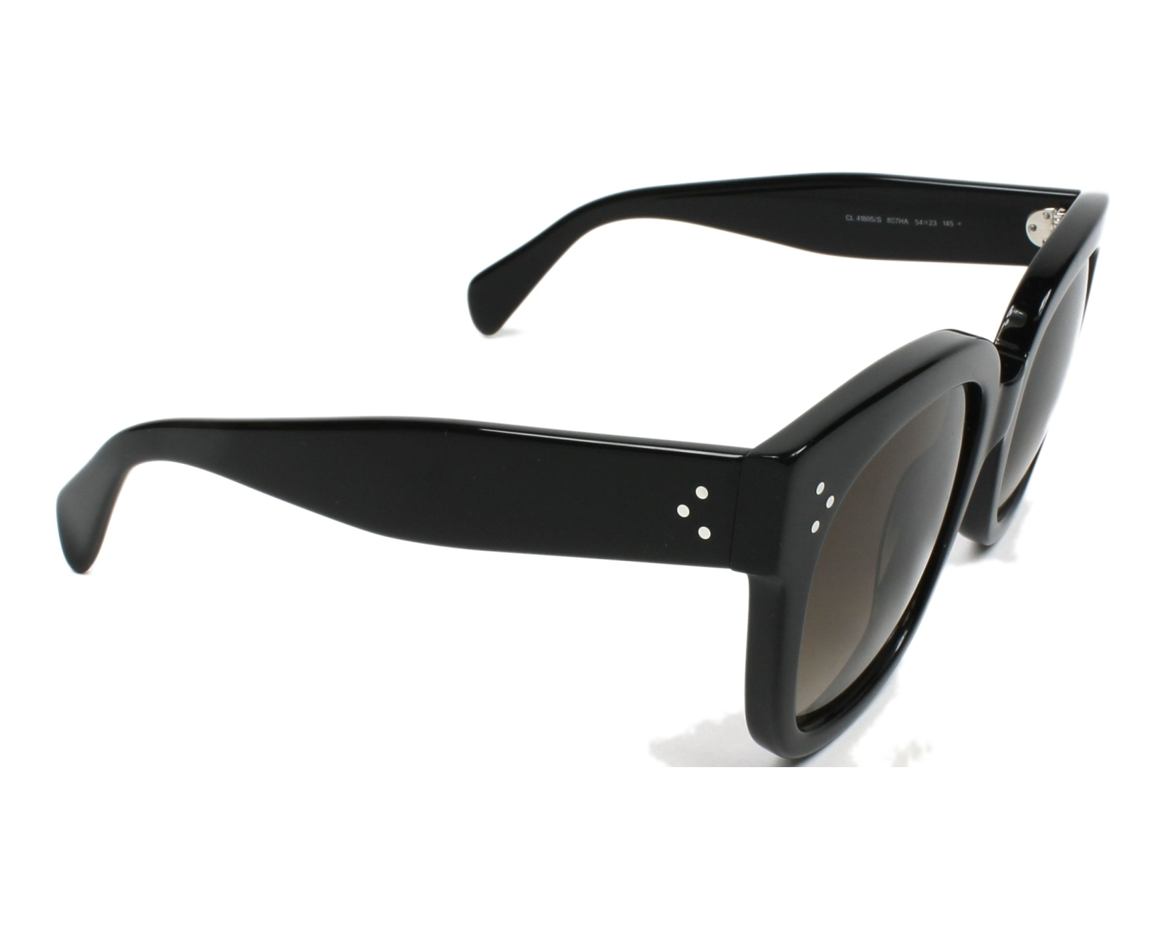133d574f6635 Sunglasses Céline CL-41805 807 HA - Black side view
