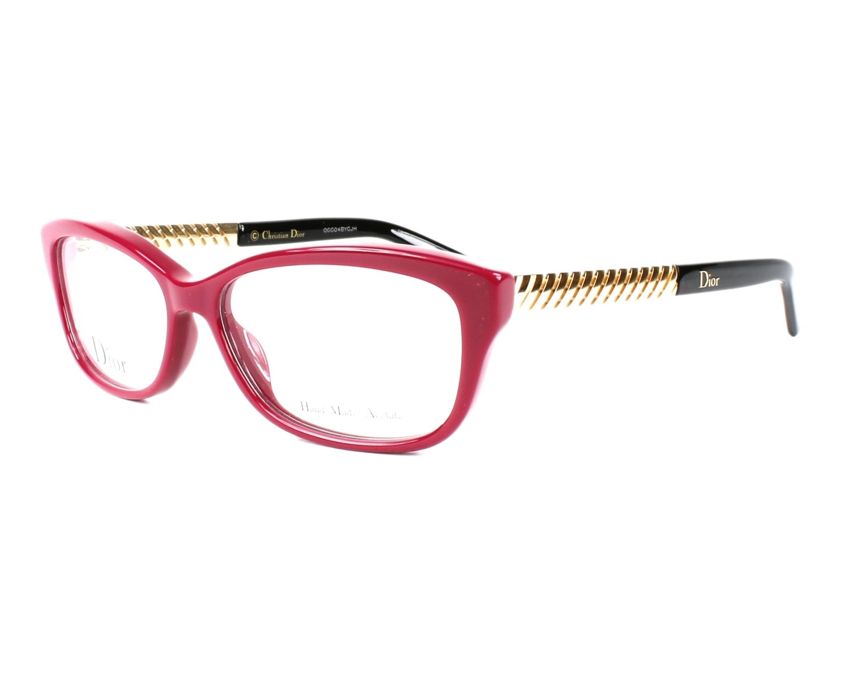 97cfebcaa2f eyeglasses Christian Dior CD-3258 BSL 52-14 Red Gold profile view