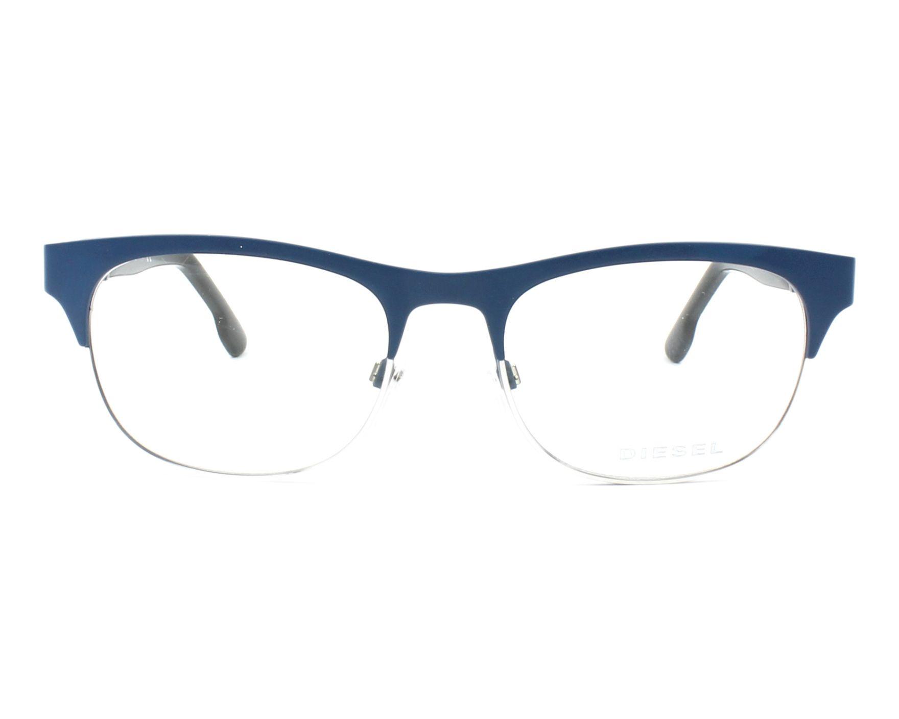 bad9f4efb5 eyeglasses Diesel DL-5125 091 52-17 Blue Blue denim profile view