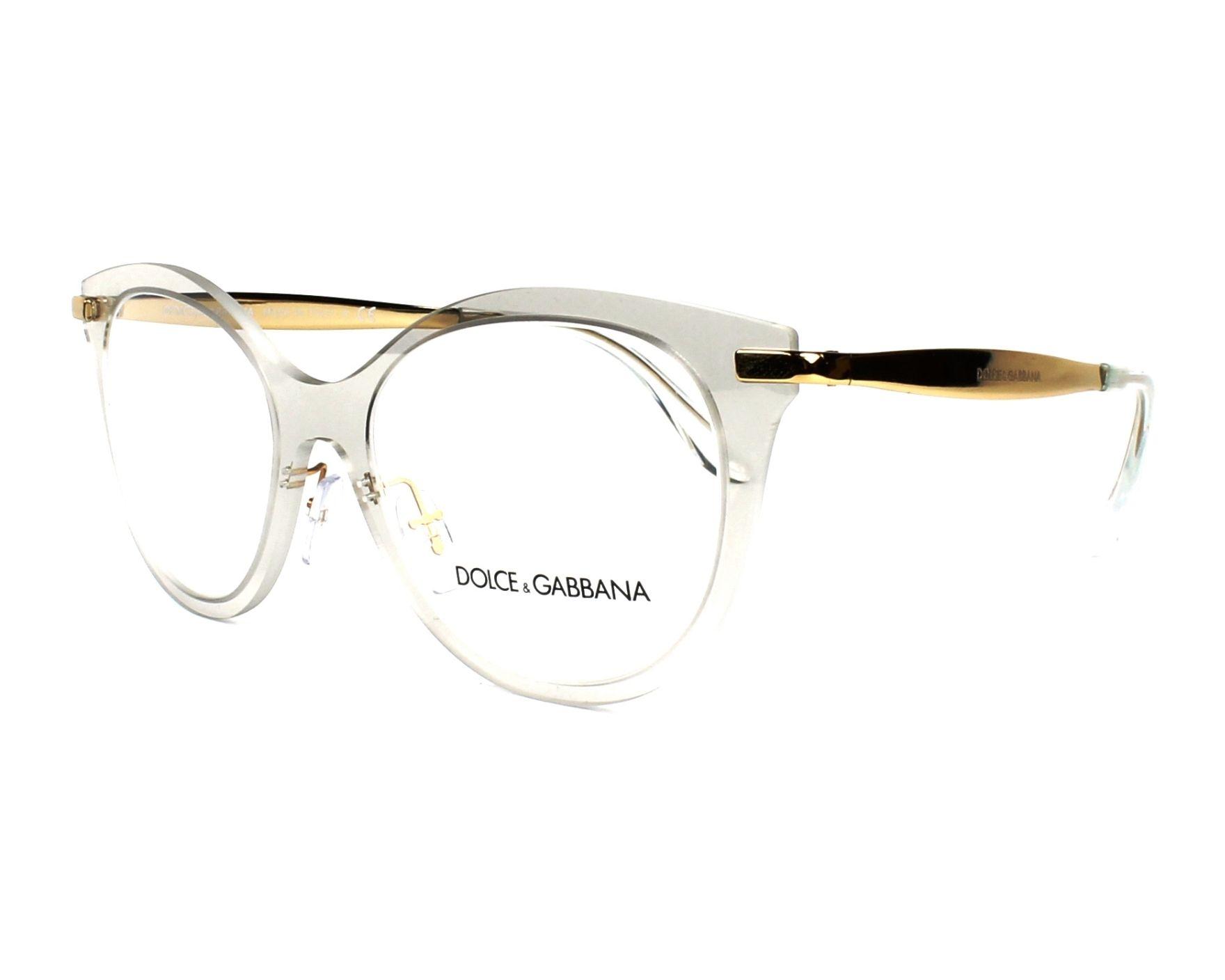 2c867158e56 eyeglasses Dolce   Gabbana DG-1292 3073 - Crystal Gold profile view