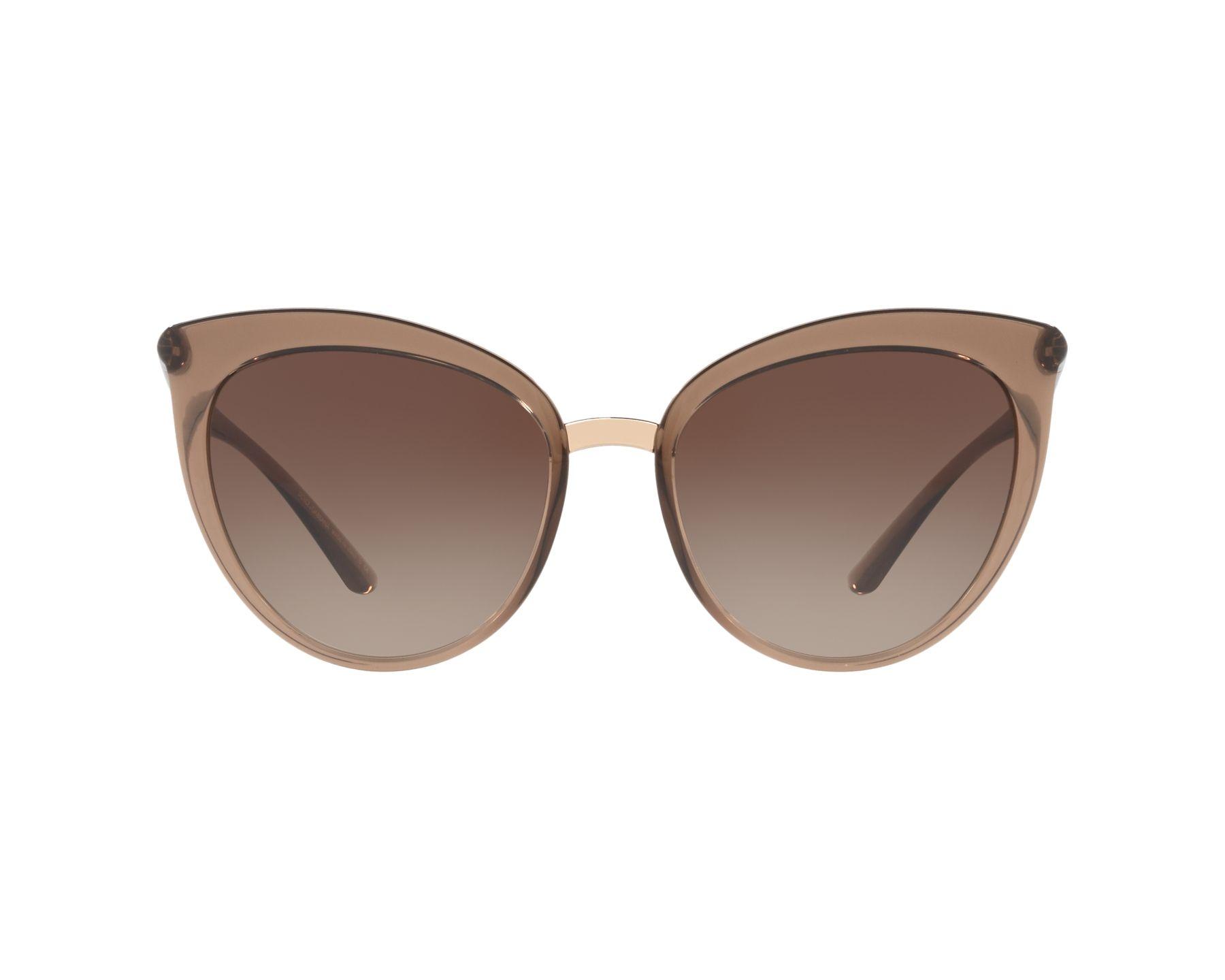 3459481b82 Sunglasses Dolce   Gabbana DG-6113 315913 55-18 Brown Brown 360 degree view