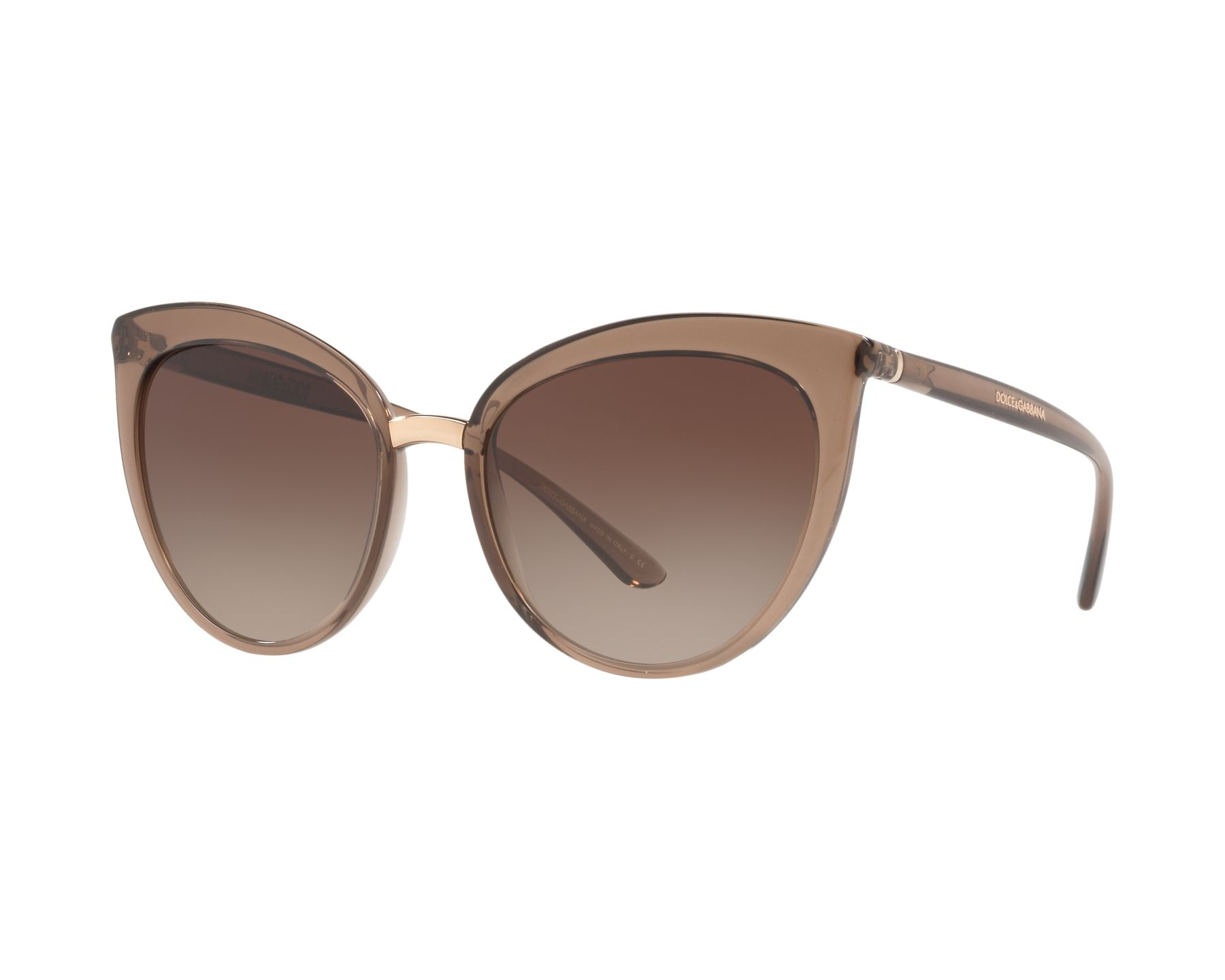 68ebf45c58 Sunglasses Dolce   Gabbana DG-6113 315913 55-18 Brown Brown
