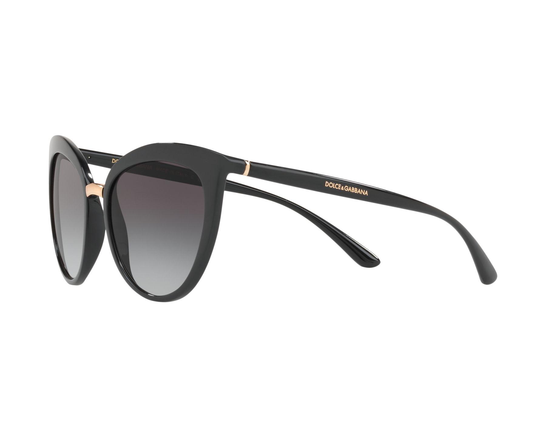 1ae04bee5a0d Sunglasses Dolce & Gabbana DG-6113 501/8G 55-18 Black Gold 360