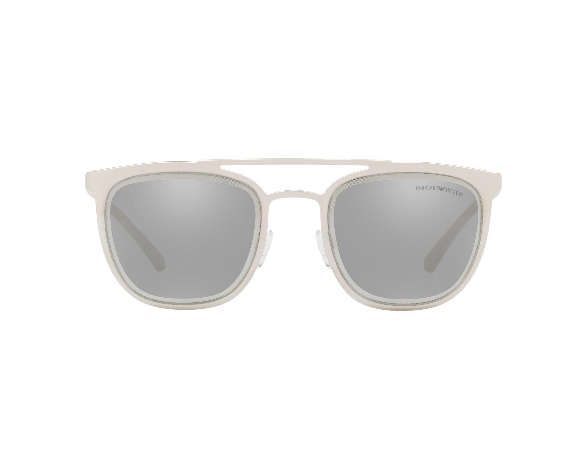 cfc358d35 Sunglasses Emporio Armani EA-2069 30156G 54-21 Silver 360 degree view 1