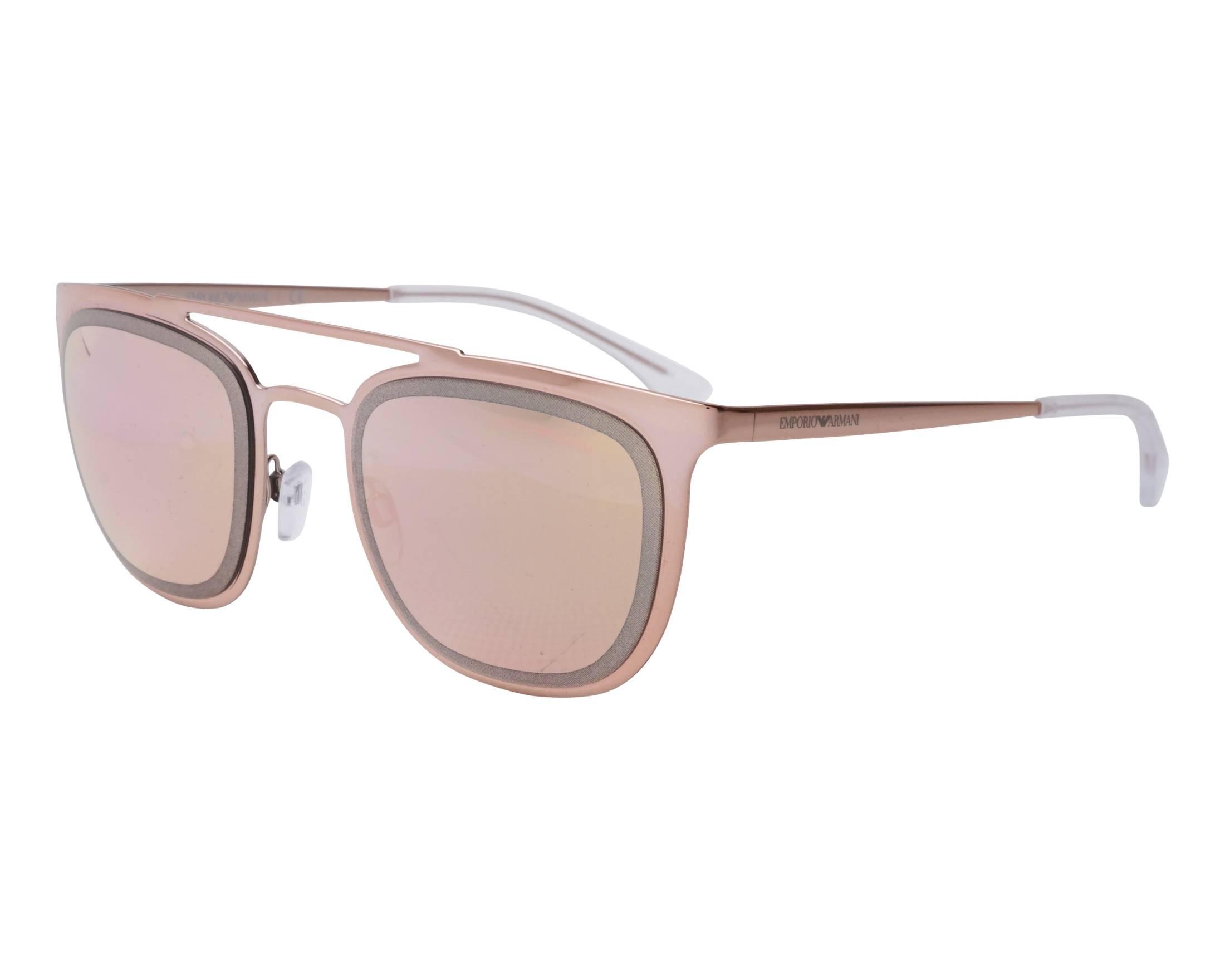dc761a666 Sunglasses Emporio Armani EA-2069 32194Z 54-21 Gold Copper profile view