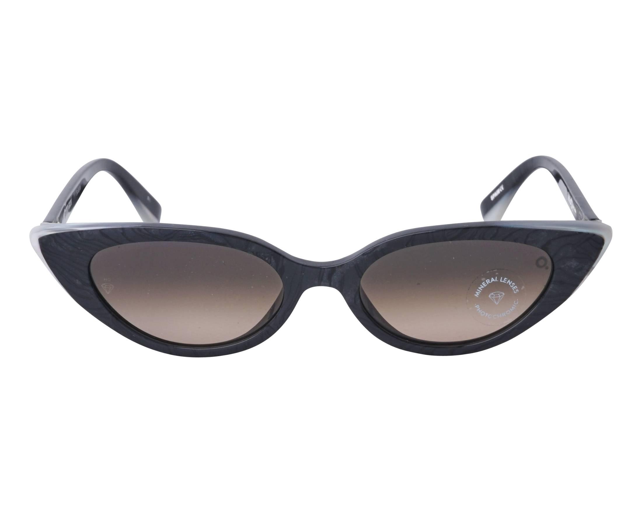 c09f1bab03 Sunglasses Etnia Barcelona BANDAI BKWH 51-18 Black Opal front view