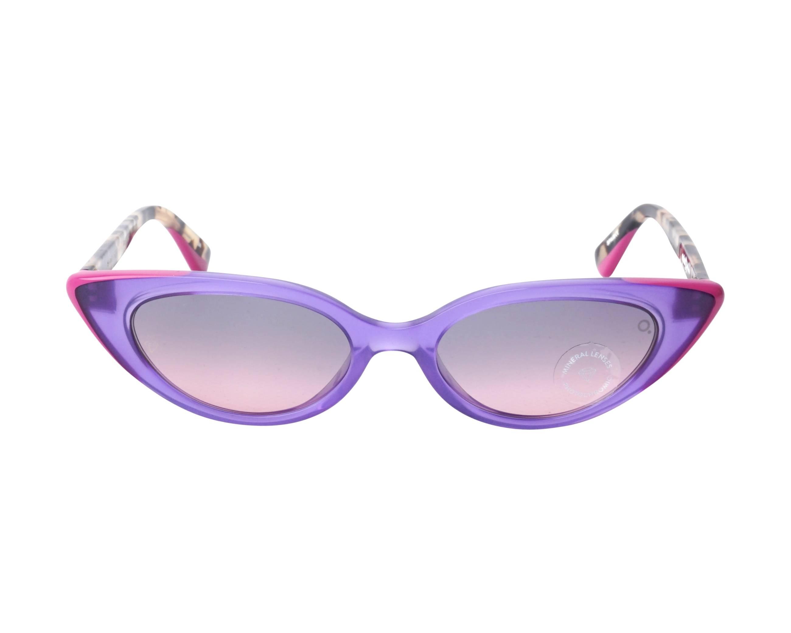 0ae9a7b551 Sunglasses Etnia Barcelona BANDAI PUHV 51-18 Violet Brown front view
